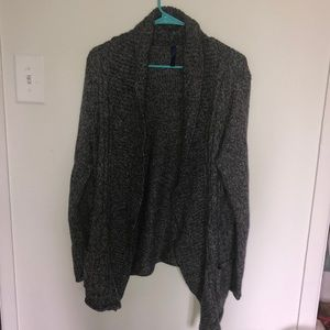 Long sleeve thick cardigan